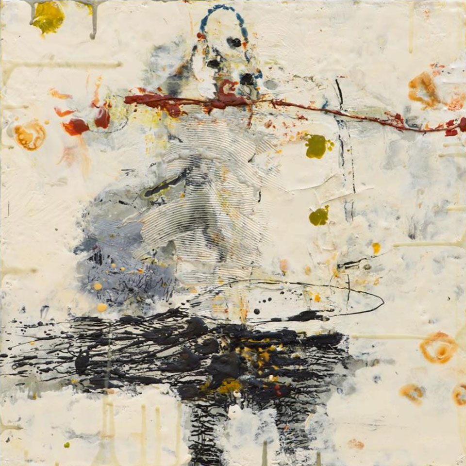Appreciation for Perfection 2 - 16 in. x 16 in. - Encaustic Mixed Media on Panel