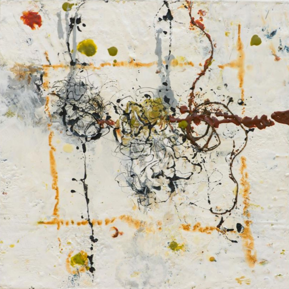 Appreciation for Perfection 4 - 16 in. x 16 in. - Encaustic Mixed Media on Panel