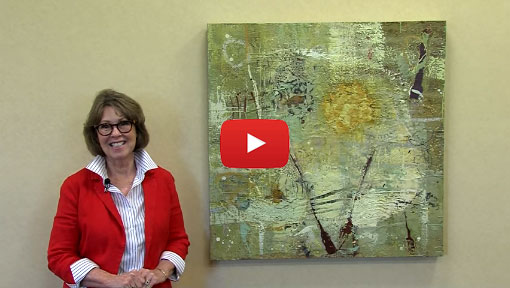 Encaustic Mixed Media Artist Mary Black in Art Talk video by Santa Rosa Junior College